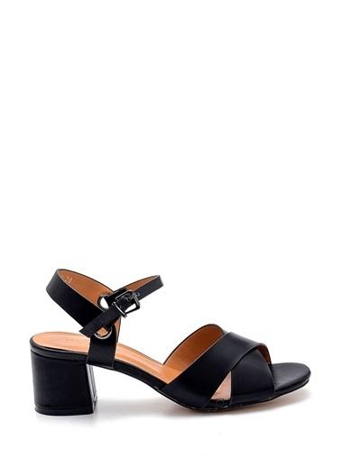 Derimod Kadın Sandalet (3070-13005-Z4) Casual Siyah